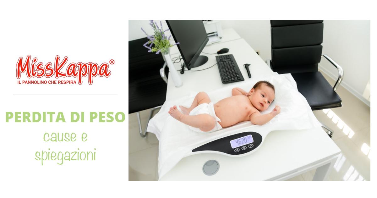 Calo di peso dopo la nascita del neonato: cause e spiegazioni