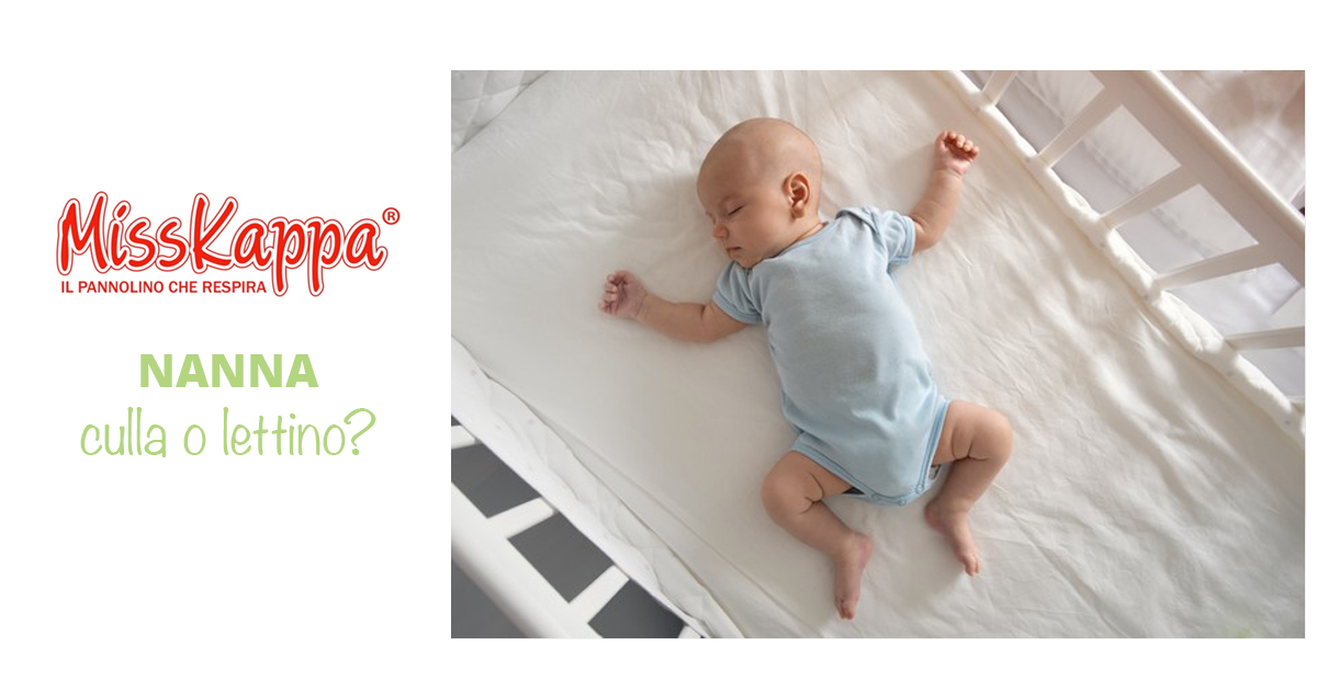 Meglio la culla o il lettino per i neonati?