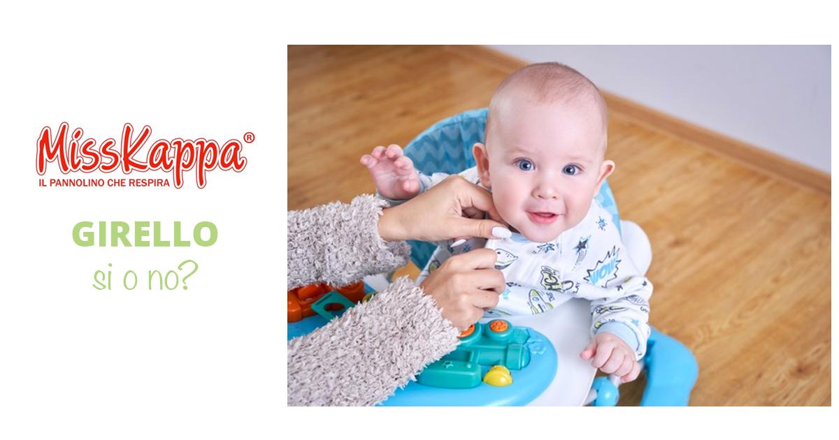 Girello sì o girello no: il consiglio del pediatra