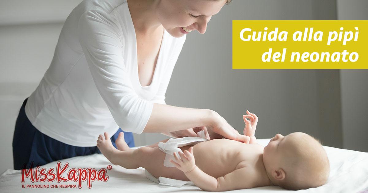 Guida alle tipologie di pipì nel bambino