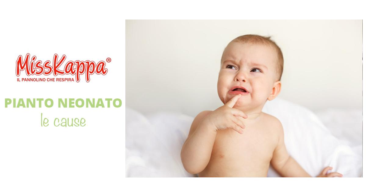 Il pianto del neonato: cosa vuole dirci?