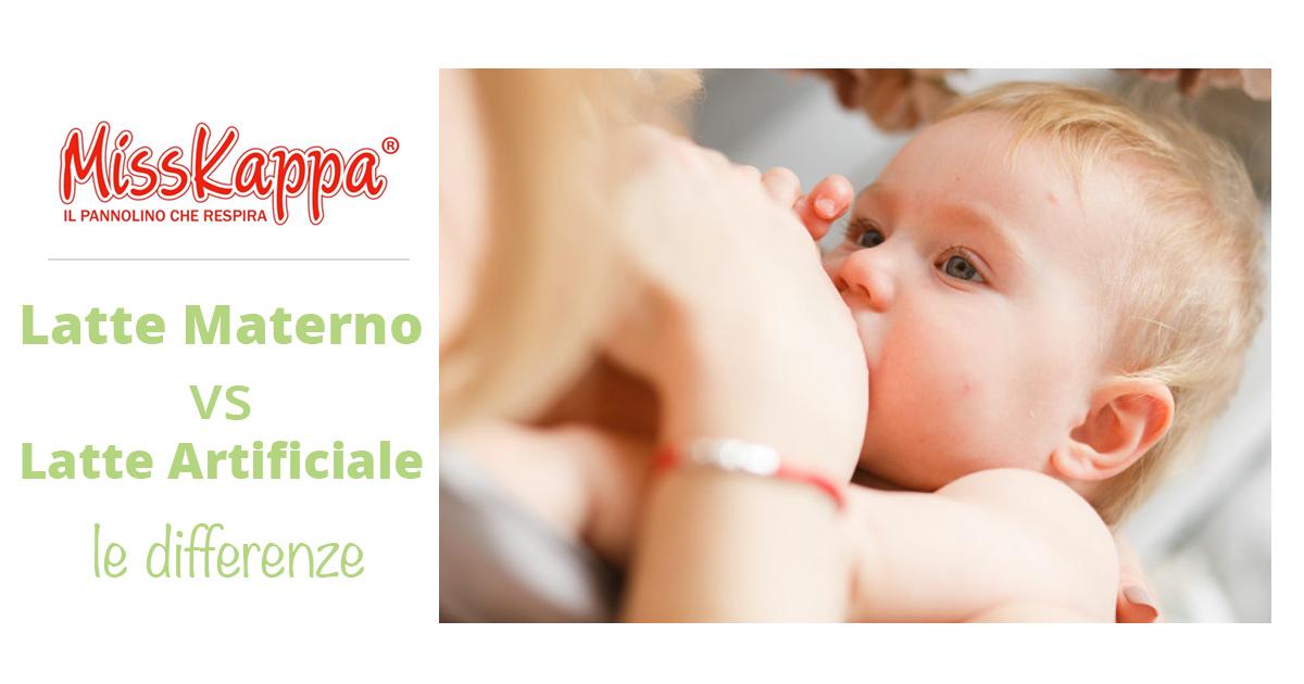 Latte materno vs Latte artificiale: scopriamo le differenze