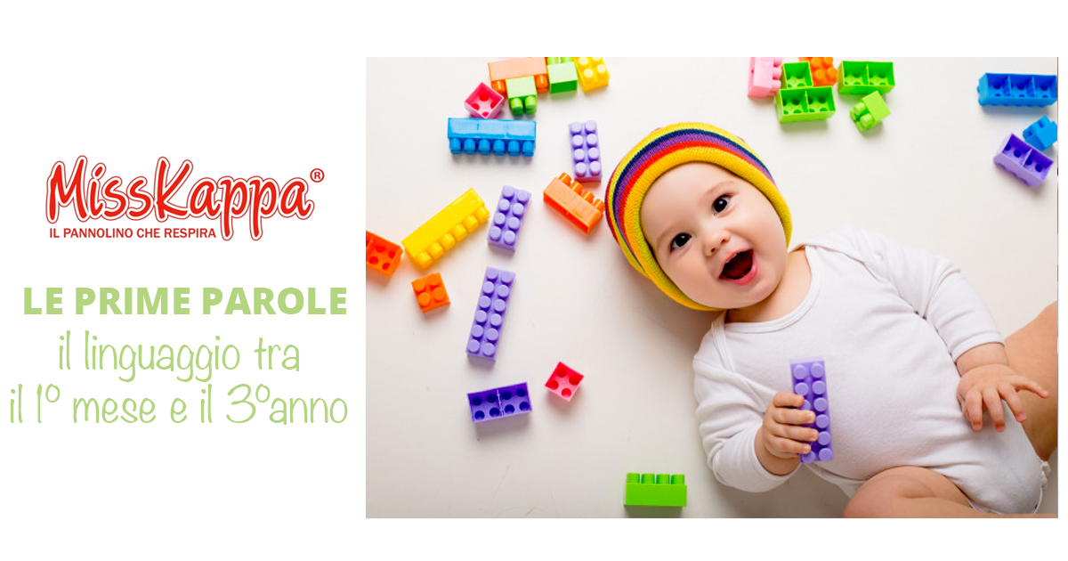 Le prime parole del bambino: l'evoluzione del linguaggio da 1 mese a 3 anni