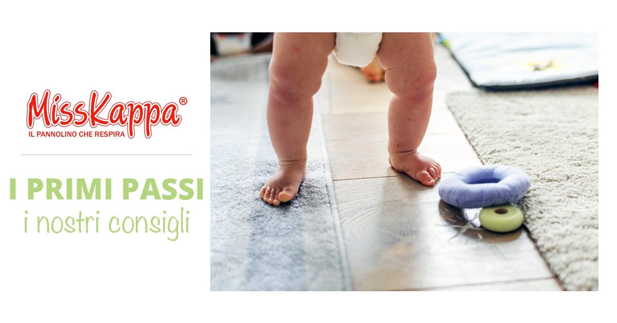I primi passi del neonato: tutte le fasi e i consigli per imparare a camminare!