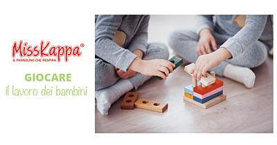 Giocare: il lavoro dei bambini per la loro crescita fisica e cerebrale