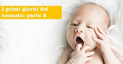 I primi 30 giorni dei neonati: tutto quello sapere. PARTE 2