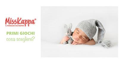Primi giochi per il neonato dai 3 ai 6 mesi: cosa scegliere?