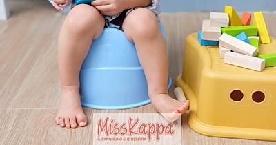 Svezzamento pannolino bambini: tutti i consigli per toglierlo